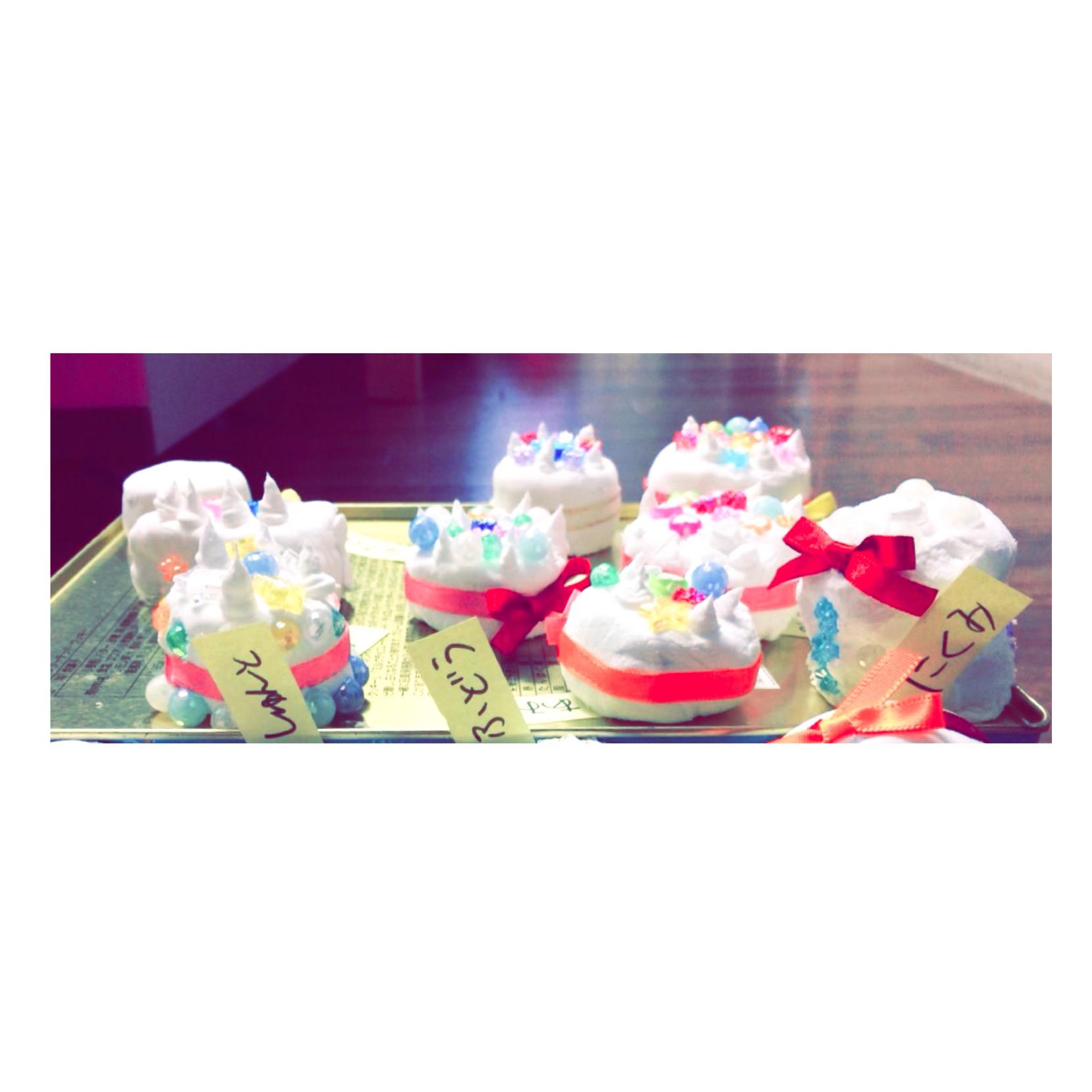 マグネットケーキ 🎂