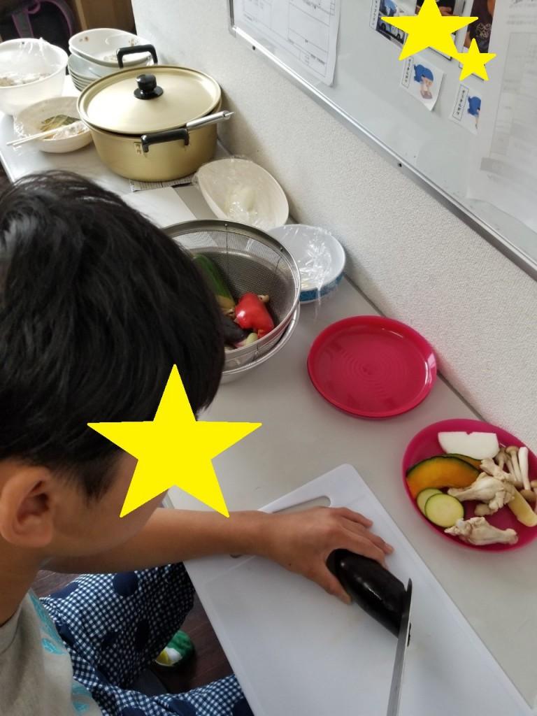 2019.8.2昼食づくり(カレー)_190802_0010