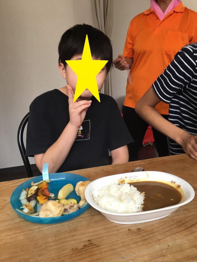 2019.8.2昼食づくり(カレー)_190802_0024
