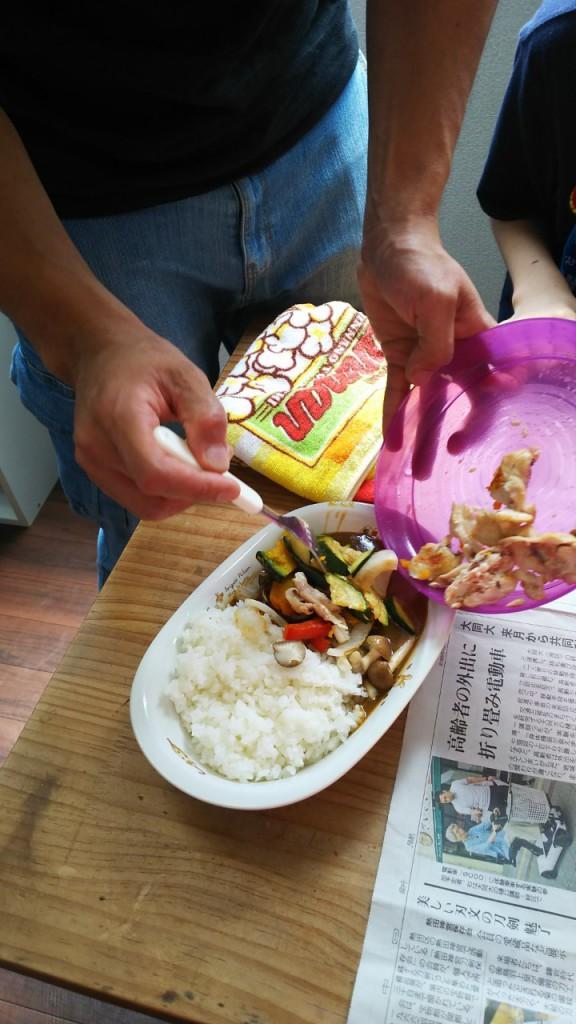 2019.8.2昼食づくり(カレー)_190802_0041