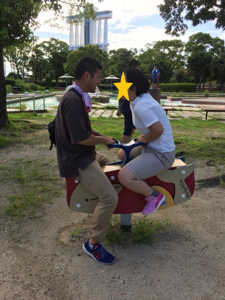 2019.9.7名古屋港の横の公園(ガーデンふ頭臨港緑園)01